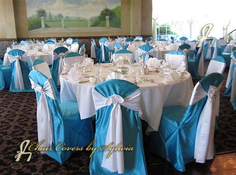 chicago chair covers for rental in turquoise in the lamour
