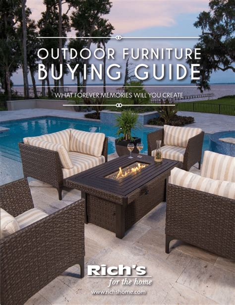 rich patio furniture lynnwood wa rich s outdoor furniture buying guide rich s for the