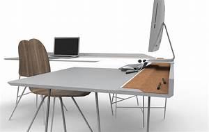 Bureau D Angle Design : projet tudiant loni bureau d 39 angle par thomas bibiloni ~ Teatrodelosmanantiales.com Idées de Décoration
