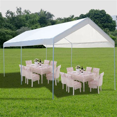 steel frame canopy shelter portable car carport garage cover party tent ebay
