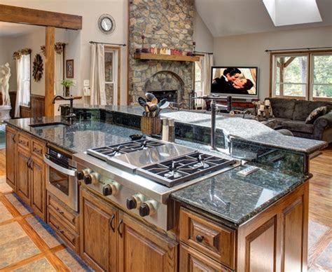 kitchen island with built in stove building a custom kitchen island to enhance your kitchen 9424