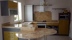 Prix Plan De Travail Cuisine : plan de travail en granit ~ Premium-room.com Idées de Décoration
