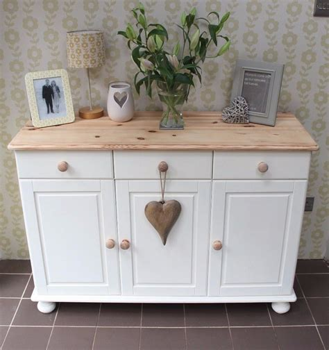 Painted Sideboard Ideas by Shabby Chic Sloan Painted Pine Sideboard In Ebay