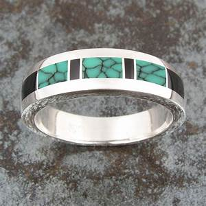 silver jewelry ring auto design tech With mens silver and turquoise wedding rings