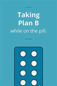 plan b birth control pills
