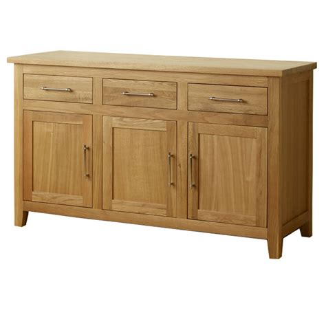 Sideboards Cabinets by Sideboard Harold Solid Oak Modern Dining Living Room