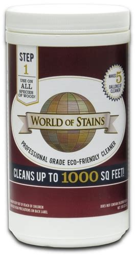 wood cleaner  world  stains  sq feet