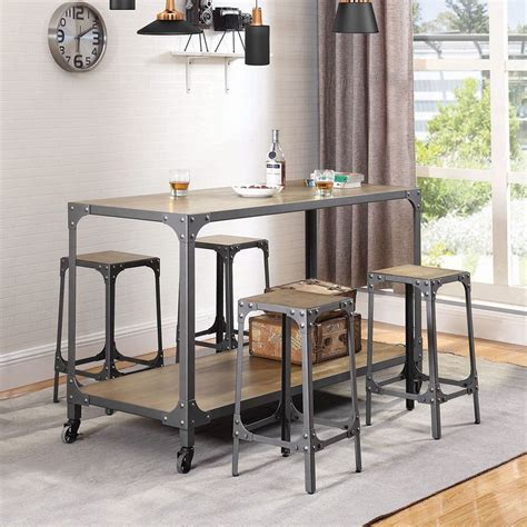 kitchen island sets industrial kitchen island set casual dining sets 2000