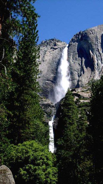Yosemite Falls Upper Lower Free Stock Photo Public