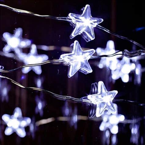 night stars christmas lights star led string fairy lights christmas wedding party