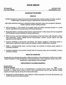 Sample controller resume jennywasherecom for Controller resume template