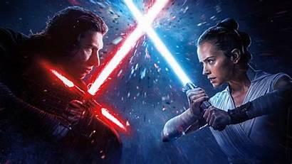 Kylo Ren Wars Rey Star Skywalker 4k