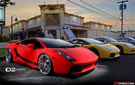 Red Lamborghini Gallardo with MB8 D2Forged Wheels - GTspirit