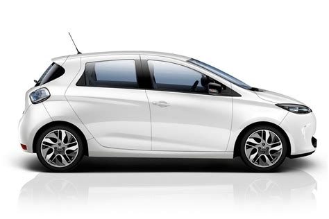 renault white renault zoe electric car pictures and details