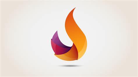 Flame 3D logo - Illustrator Free download | Speed Art ...