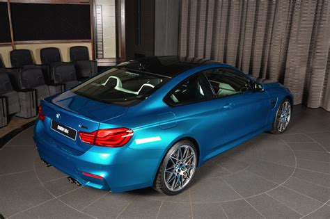 individual atlantis blue bmw  competition package