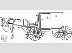 Amish Buggy outline