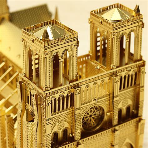 buy piececool notre dame cathedral paris diy  laser cut
