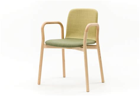 Two Tone Chair With Armrest By Discipline Stylepark