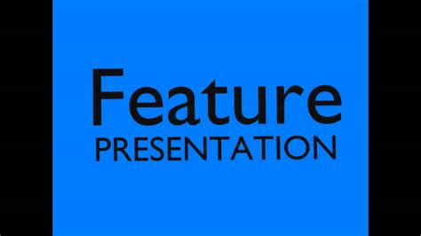 2000s Feature Presentation bumper (My Attempt).wmv - YouTube