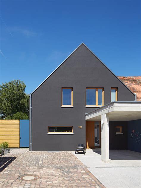 Moderne Häuser Mit Carport by Au 223 Enansicht Mit Carport Modern H 228 User Berlin