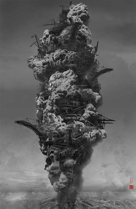 Heavenly City: an Art Project by Yang Yongliang
