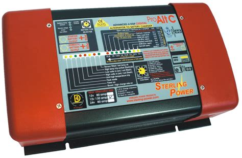 Marine Battery Charger Overcharging by Sterling Power Dc Input Alternator To Battery Charger 12