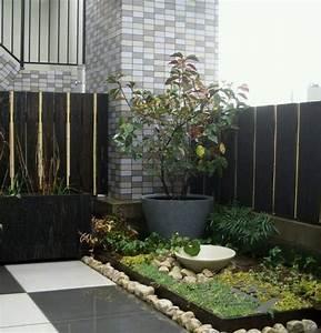 Cloture Et Jardin : cl tures jardin et portillons pour ext rieurs modernes ~ Nature-et-papiers.com Idées de Décoration