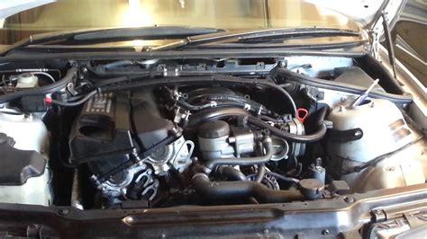 4 vacuum hose replace separator crankcase ventilator ccv on bmw