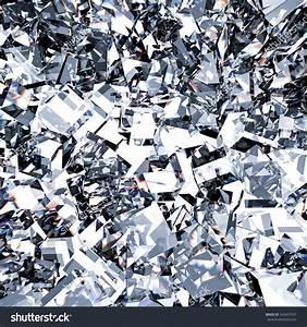 3d Rendered Sparkling Diamond Refraction Background Stock ...