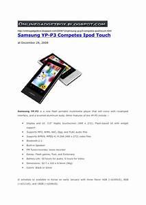 Samsung Yp P3 : samsung yp p3 competes ipod touch ~ Watch28wear.com Haus und Dekorationen