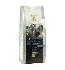 italienischer kaffee für vollautomaten gepa italienischer bio espresso koffeinfrei gemahlen 1 5kg 6x250g grundpreis pro 1000g 25