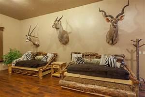 African Safari Game Room & Hunting/Fishing Trophy Room