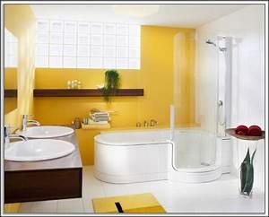 Begehbare Badewanne Mit Dusche Haus Dekoration