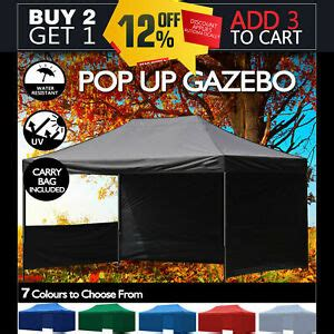 xm gazebo outdoor pop  tent folding marquee party wedding camping canopy ebay
