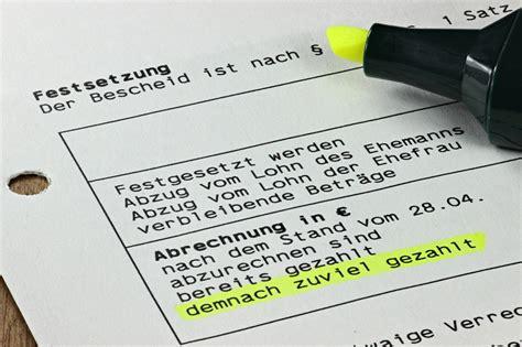steuerbescheid pruefen einspruch erheben und nachtraeglich