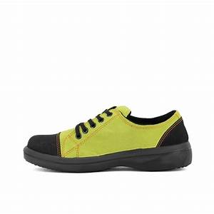 Chaussure De Securite Femme Legere : basket de s curit ultra l g re femme vert anis lisashoes ~ Nature-et-papiers.com Idées de Décoration