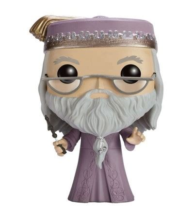 harry potter figurine pop albus dumbledore avec baguette