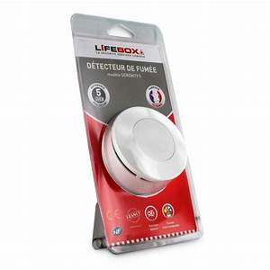 Detecteur De Fumée : d tecteur de fum e certifi nf lifebox serenity 1 lifebox ~ Melissatoandfro.com Idées de Décoration