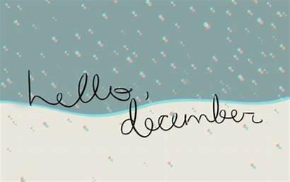 December Hello Winter Diciembre Welcome Snow Gifs