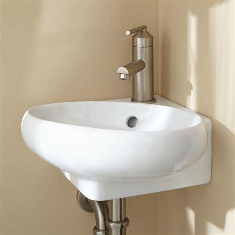 adella corner wall mount bathroom sink bathroom