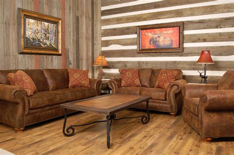 Know About The Rustic Living Room Furniture