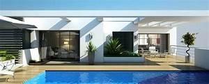 Maison Architecte Plain Pied : maison d architecte plain pied inspirational darchitecte contemporaine plainp ~ Melissatoandfro.com Idées de Décoration