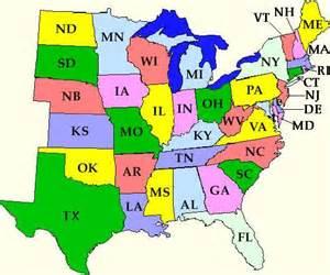Eastern US Maps United States