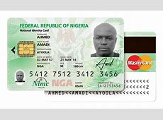 MasterCardbacked biometric ID system launched in Nigeria