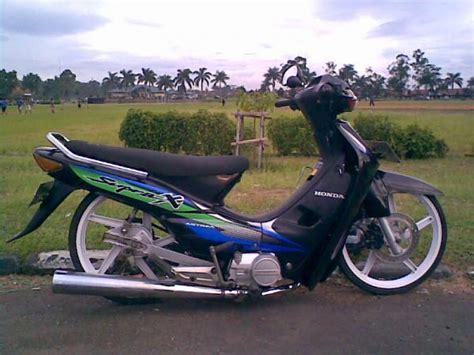 Modifikasi Motor Honda Supra by Motor Info Modifikasi Ceper Honda Supra