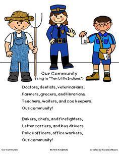 community helpers pack pdf school ideas 220 | 293c89f908f333154de73618a6ecc0dd toddler community helpers activities community helpers song