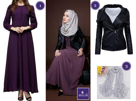comment organiser bureau total look robe abaya veste simili cuir noir et