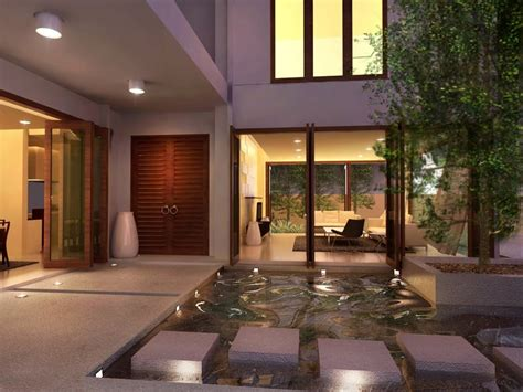 courtyard house designs interior courtyards