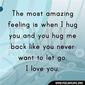 Most Amazing Lo... Amazing Feeling Love Quotes